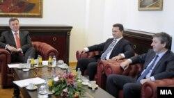 Координација на државниот врв во пресрет на посетата на посредникот на ОН Метју Нимиц, 17 февруари, 2012