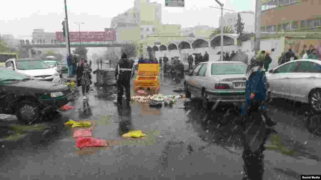 اعتراضها در تهران