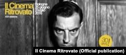 Бастер Китон на плакате фестиваля в Болонье