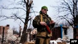 Проросійські сепаратисти, архівне фото