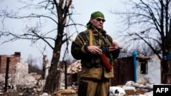 Наслідки бойових дій на Донбасі, село Логвинове неподалік Дебальцевого. Ілюстраційне фото