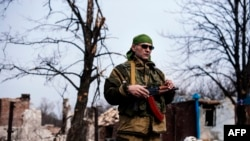 Проросійський сепаратист, архівне фото