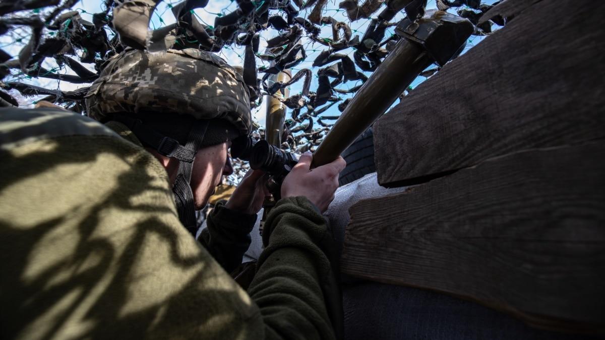 От начала суток боевики трижды нарушили режим тишины – Минобороны