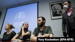Вакцинаны сыноого катышкан ыктыярчылар, Москва 15-июль 2020-жыл