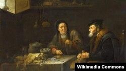 Давід Тэнірс Малодшы, «Хцівец» (1648)