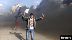 مخالفان مرسی در اسکندریه، چهاردهم دسامبر
