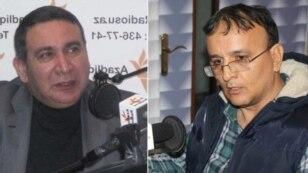 Rashad Majid and Zamin Haji (R)