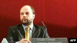 Amnesty International - Эл аралык мунапыс уюмунун баш катчысы Клаудио Кордоне жаңы доклад менен тааныштырды.