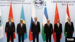 Министры иностранных дел стран-участниц ШОС. Ташкент, 24 мая 2016 года.