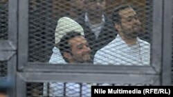 Ahmed Maher, Ahmed Douma, and Muhammad Adel were found guilty of involvement in an unauthorized protest.