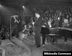Стэн Гетц, тенор-саксофон и Лу Леви, фортепиано, 1959 год