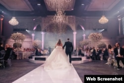 "A scene from ""Alyona and Maksim's wedding"""
