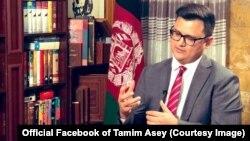 تمیم عاصی، معاون پیشین وزارت دفاع افغانستان و رئیس انستیتوت مطالعات جنگ و صلح