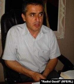 Сӯҳроб Ҳусейнов, додситони ноҳияи Қубодиён