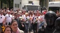 Poliția a oprit marșul LGBT pentru a evita ciocniri cu contramanifestanții