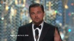 Ди Каприо получил «Оскар»