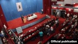 Atifete Jahjaga na otvaranju Međunarodnog seminara za albanski jezik, književnost i kulturu