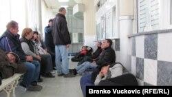 Sa jednog od radničkih protesta u Srbiji
