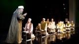 """Tatarstan -- Scene of """"Kazul chitek"""" play of Kariev theater in Kazan, 28Nov2018"""