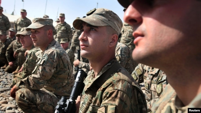 Georgia has some 1,650 troops in Afghanistan, most of them based in the southern Helmand Province, one of the most restive areas of the country.