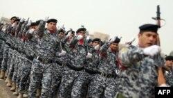 Припадници на ирачката полиција