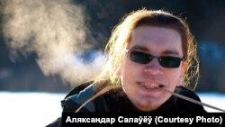 Гітарыст «Беларускіх песьняроў» Аляксандар Салаўёў