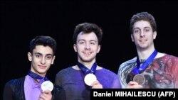 На фото (слева) - Артур Данелян, Дмитрий Алиев, Морис Квителашвили