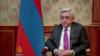 Президент Армении Серж Саргсян дает интервью телекомпании Al Jazeera