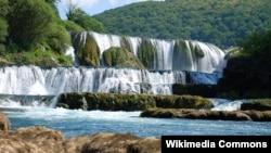 Vodopad Štrbački buk, Nacionalni park Una