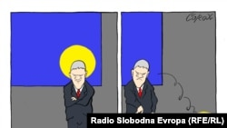 Karikatura o Tadiću, Corax