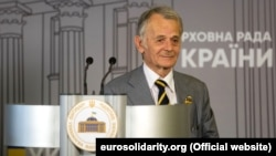Rights activist Mustafa Dzhemilev