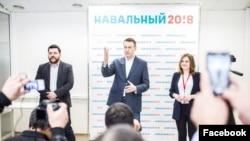 Алексей Навальный в Уфе в 2017 году