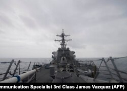 """Эсминец """"Джон Маккейн"""" патрулирует в Южно-Китайском море"""
