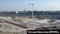 """Здесь будет арт-парк """"Тучков буян"""""""