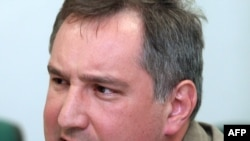 Russia's Dmitry Rogozin blamed the latest problems in Russia's relations with NATO on forces in the alliance hostile to Russia, pointing a finger at new Eastern European members, former Soviet satellites in the Warsaw Pact.