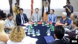 Седница на ад хок Комисијата за расчистување на настаните од 24 декември.