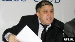 """""""Нар Ойл"""" компаниясының президенті Сұлтан Үшбаев. Алматы, 18 наурыз, 2009 жыл."""