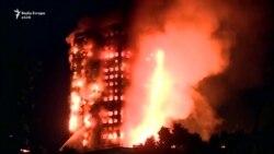 Zjarri përfshin ndërtesën në Londër