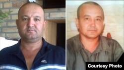 Илхом Ибодов (справа), который умер в заключении 13 сентября 2015 года, и его брат Рахим Ибодов (слева), который отбывает тюремный срок: 8 лет. Фото взято с веб-сайта Правозащитной ассоциации «Права человека в Центральной Азии».