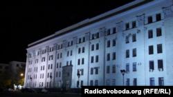 Здание, захваченное под «министерства ЛНР»