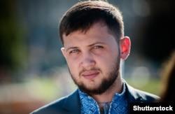 Бывший политзаключенный в России Геннадий Афанасьев. Киев, 26 августа 2016 года