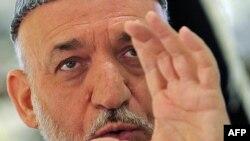 Әфганстан президенты Хәмит Карзаи