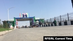 A far cry from the days of Karimov: the Tajik-Uzbek border earlier this year.