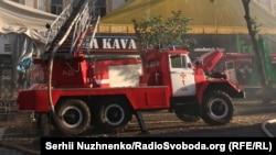 Пожарная машина, иллюстративное фото