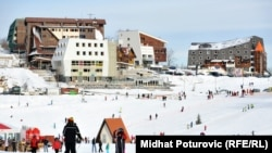Apartmanska naselja na planini Bjelašnici