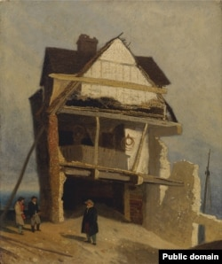 Джон Сэл Котман, «Развалены дом» (1810)