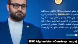 د افغانستان د ملي امنیت سلاکار حمدالله محب