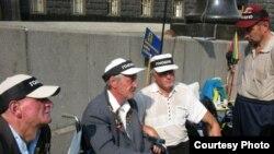 Акція протесту, голодування інвалідів-чорнобильців під Кабміном