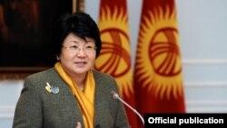 Qirg'izistonning sobiq prezidenti Roza O'tunbaeva.