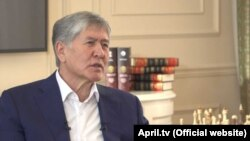 In an interview that aired on December 10, Almazbek Atambaev accused the three ex-officials of looking for political opportunities to enrich themselves.